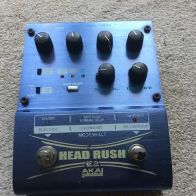 Akai Head Rush E2 Looper & Tape Delay & Digital Delay for sale