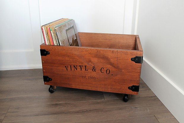 Bon LP Vinyl Record Storage Crates / Boxes