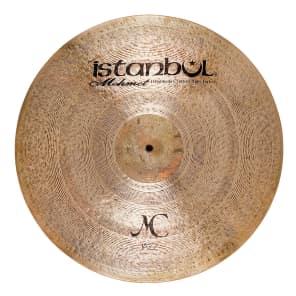 "Istanbul Mehmet 20"" MC Jazz Ride Cymbal w/ Rivets"