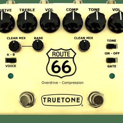 Truetone V3 Route 66 Overdrive Compressor Pedal for sale