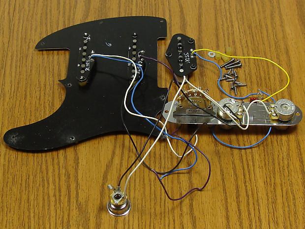 Stupendous Fender Blackout Tele Loaded Pickguard W 3 Pickups Telecaster Reverb Wiring 101 Hemtstreekradiomeanderfmnl