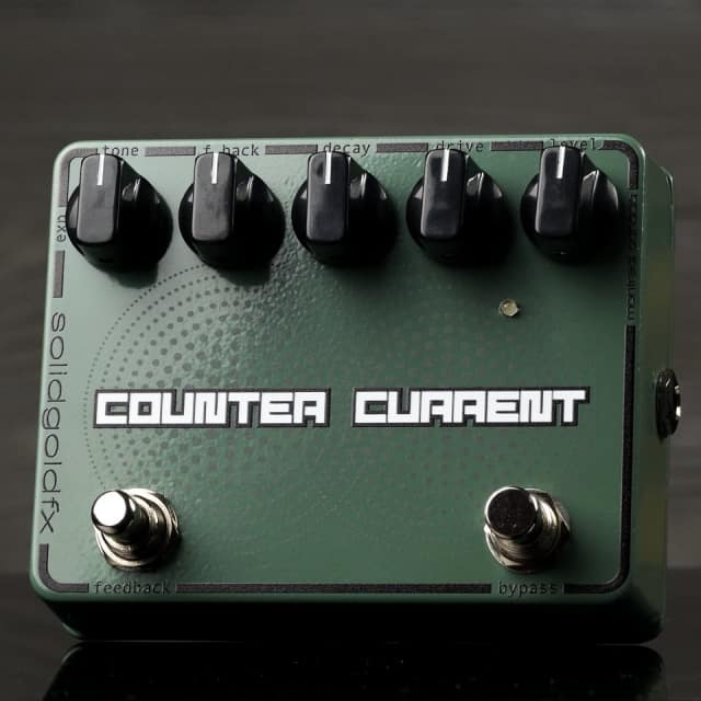 SolidGoldFX Counter Current Reverb / Momentary Feedbacker image