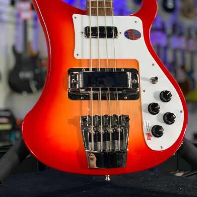 2021 NEW Rickenbacker 4003S Fireglo 4-String Bass Guitar   OHSC + Free Ship, 4003 S Auth Dlr 709