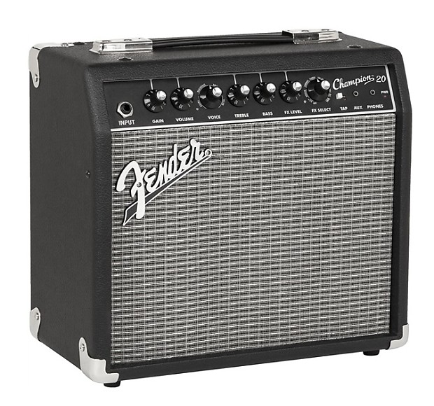 Amplificateur Guitare Fender : fender champion 20 guitar amplifier kraft music reverb ~ Russianpoet.info Haus und Dekorationen