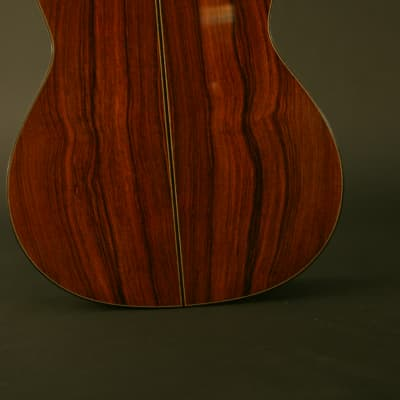 Milburn Concert classical Madagascar rosewood/redwood 2007 French polish for sale