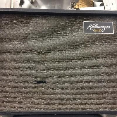 """Kalamazoo Bass 50 50-Watt 2x10"""" Tube Guitar / Bass Combo"""