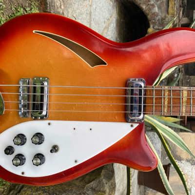 1967 Rickenbacker 4005 Bass - Fireglo - Excellent - OHSC for sale