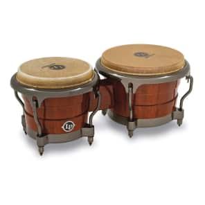 Latin Percussion LP201AX-D Durian Bongos w/ Comfort Curve II Rims