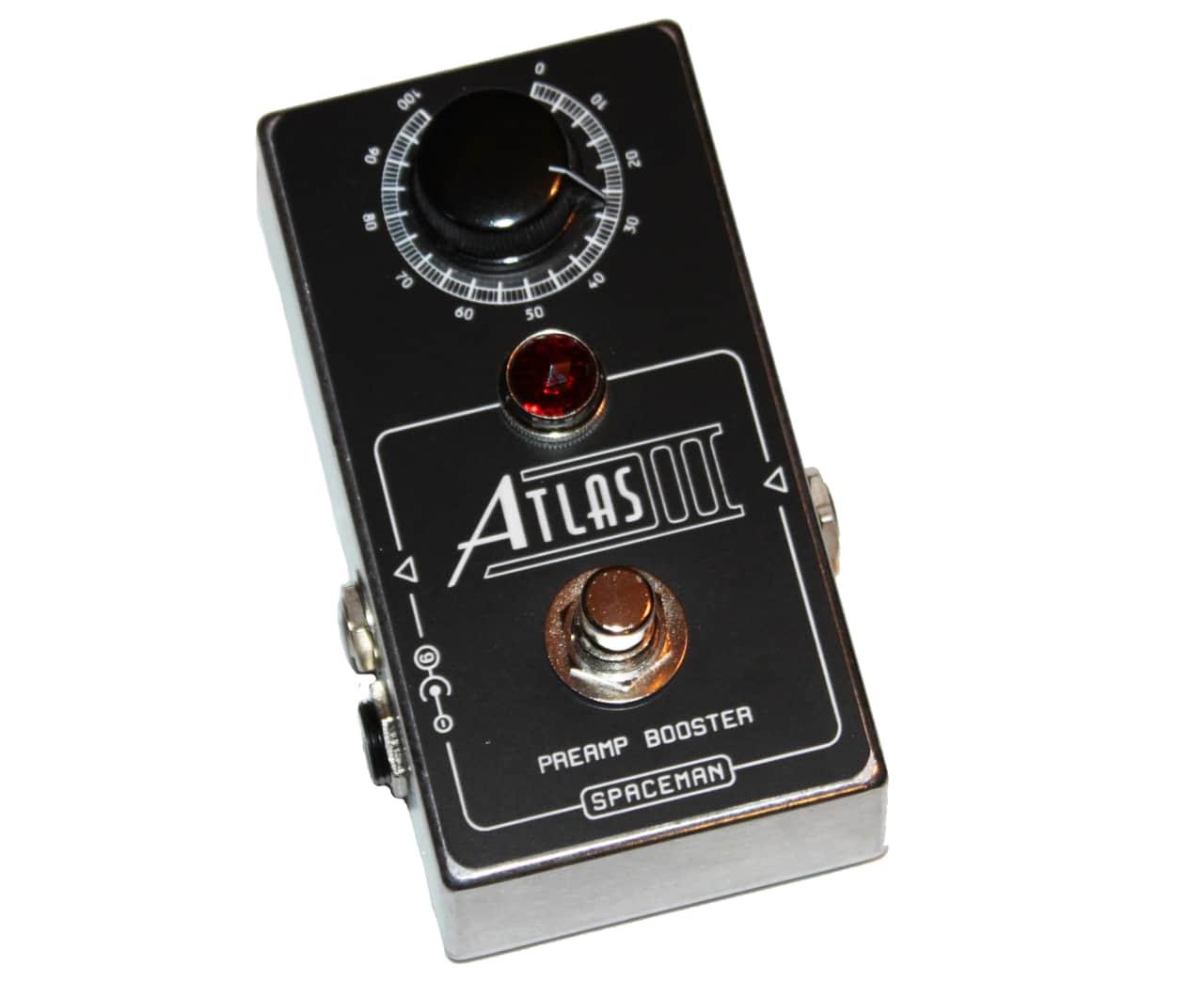 Spaceman effects atlas iii preamp booster effects pedal for Atlas motors portland oregon