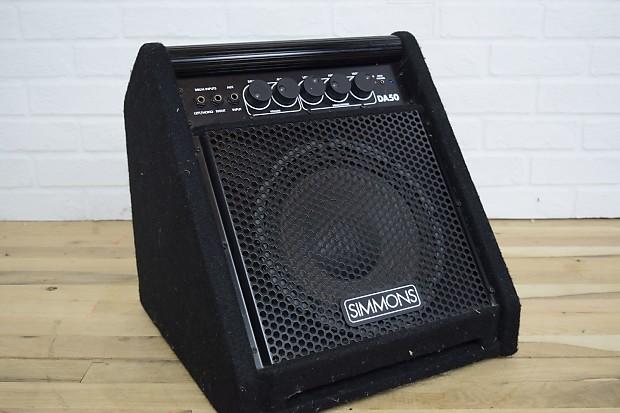 simmons da50 electronic drum amplifier excellent used amp for reverb. Black Bedroom Furniture Sets. Home Design Ideas