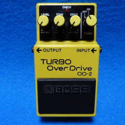 【Convert to PSA mod available】 Boss OD-2 Turbo OverDrive