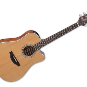 Takamine Dreadnought Acoustic Guitar - Natural Satin/Rosewood - GD20CENS for sale