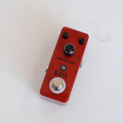 Blaxx Distortion Pedal Red