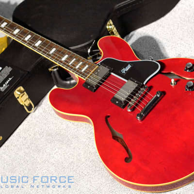 Gibson Custom(Nashville) Historic 1962 ES-335 Kalamazoo Block Reissue Gloss - 60's Cherry for sale