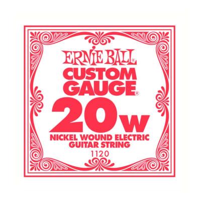 Ernie Ball Nickel Wound Single String 020