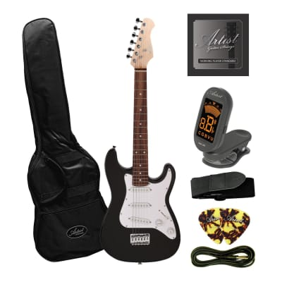 Artist MiniS Plus - 3/4 Size Small Body Electric Guitar + Accessories for sale