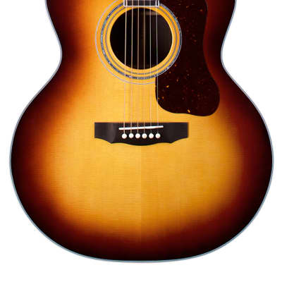 Guild F-55E Anitque Burst - Made in the USA. 2020, All Solid, Sitka Spruce top, Indian Rosewood b/s