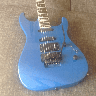 Charvel 3 MIJ Cobalt Blue with P.J. Marx Pickups (RARE) for sale