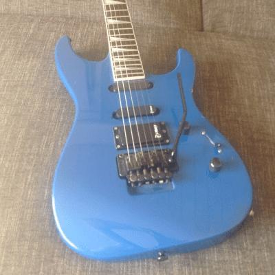Charvel 3 1990 Cobalt Blue with P.J. Marx Pickups for sale