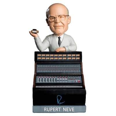 New Rupert Neve The Bobblehead - The Pioneer of Studio Technology & Sound | 2021 | RND Bobble Head