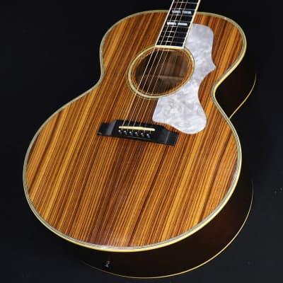 Gibson Custom Built J-185 Ken Spl Zeebra Wood Natural 04/08