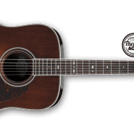 Ibanez AVD10 Artwood Vintage Thermo Aged Acoustic Guitar for sale