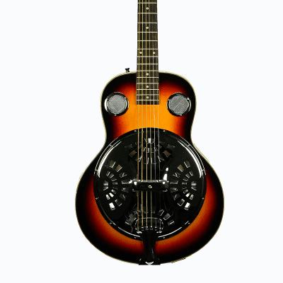 De Rosa Dobro Resonator Acoustic Guitar DBI-8-VSB-TS 2020 Tobacco Sunburst for sale
