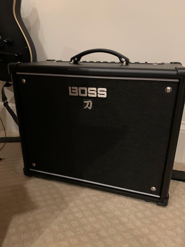 boss ktn 50 katana 50 watt 1x12 modeling guitar combo reverb. Black Bedroom Furniture Sets. Home Design Ideas