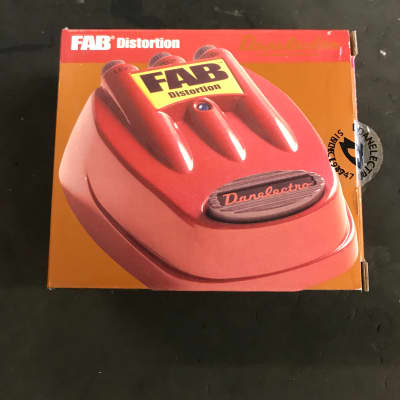 Danelectro FAB Distortion pedal for sale