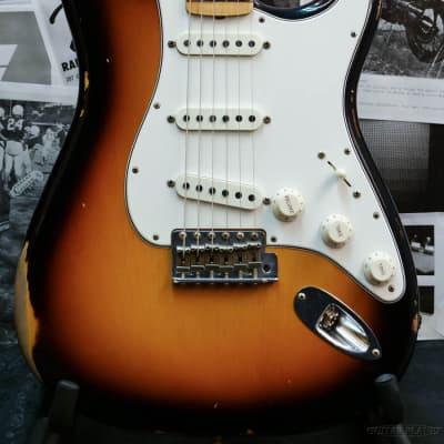 Fender Custom Shop  ~2018 Custom Collection~ 1968 Stratocaster Relic -Faded 3 Color Sunburst- 2018 for sale