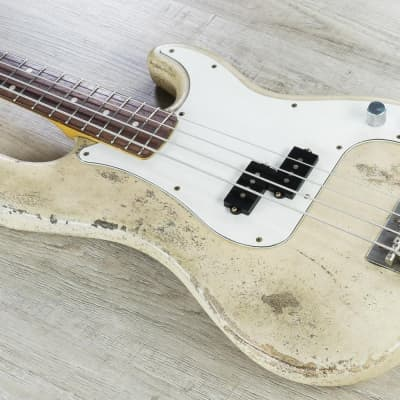 Rock N Roll Relics Vicious Bass Rosewood Fingerboard Medium Aged Blonde w/ Case for sale