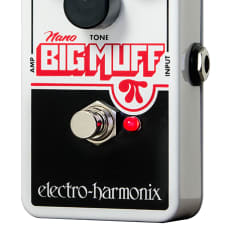Electro-Harmonix Nano Big Muff Pi Fuzz Distortion Guitar Pedal