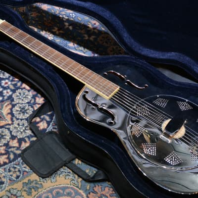 Harley Benton Metal Resonator  Guitar for sale