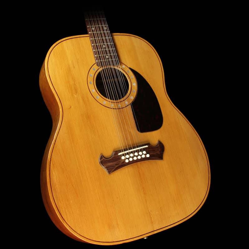 used 1965 zemaitis 12 string standard acoustic guitar natural reverb. Black Bedroom Furniture Sets. Home Design Ideas