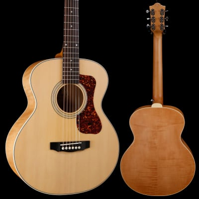 Guild Jumbo Junior Flamed Maple, Antique Blonde 043 3lbs 12.1oz for sale