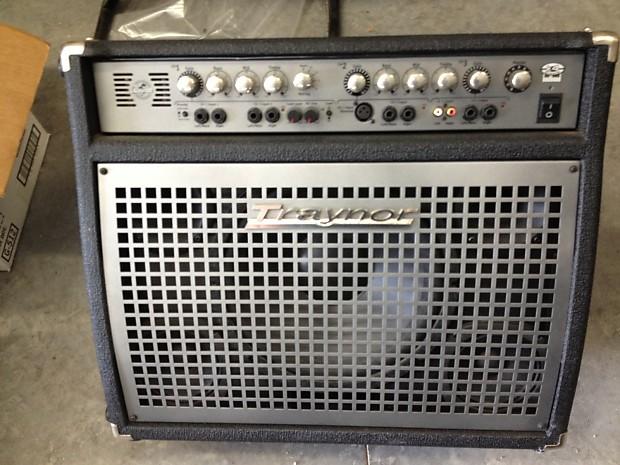 traynor k4 keyboard amplifier used reverb