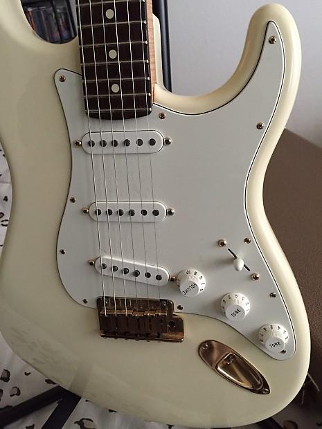 Fender American Standard Stratocaster 2011 Olympic White Reverb