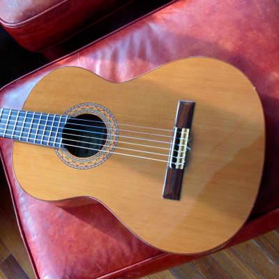 Outstanding handcrafted Spanish classical guitar. Almansa Guitarras Model 424 Cedro. (Blem. grade.) for sale