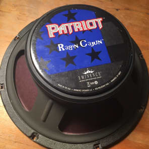 "Eminence Patriot Ragin Cajun 10"" 75w 8 Ohm Replacement Speaker"