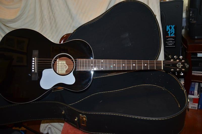 loar lo 16 acoustic guitar black double d guitars reverb. Black Bedroom Furniture Sets. Home Design Ideas