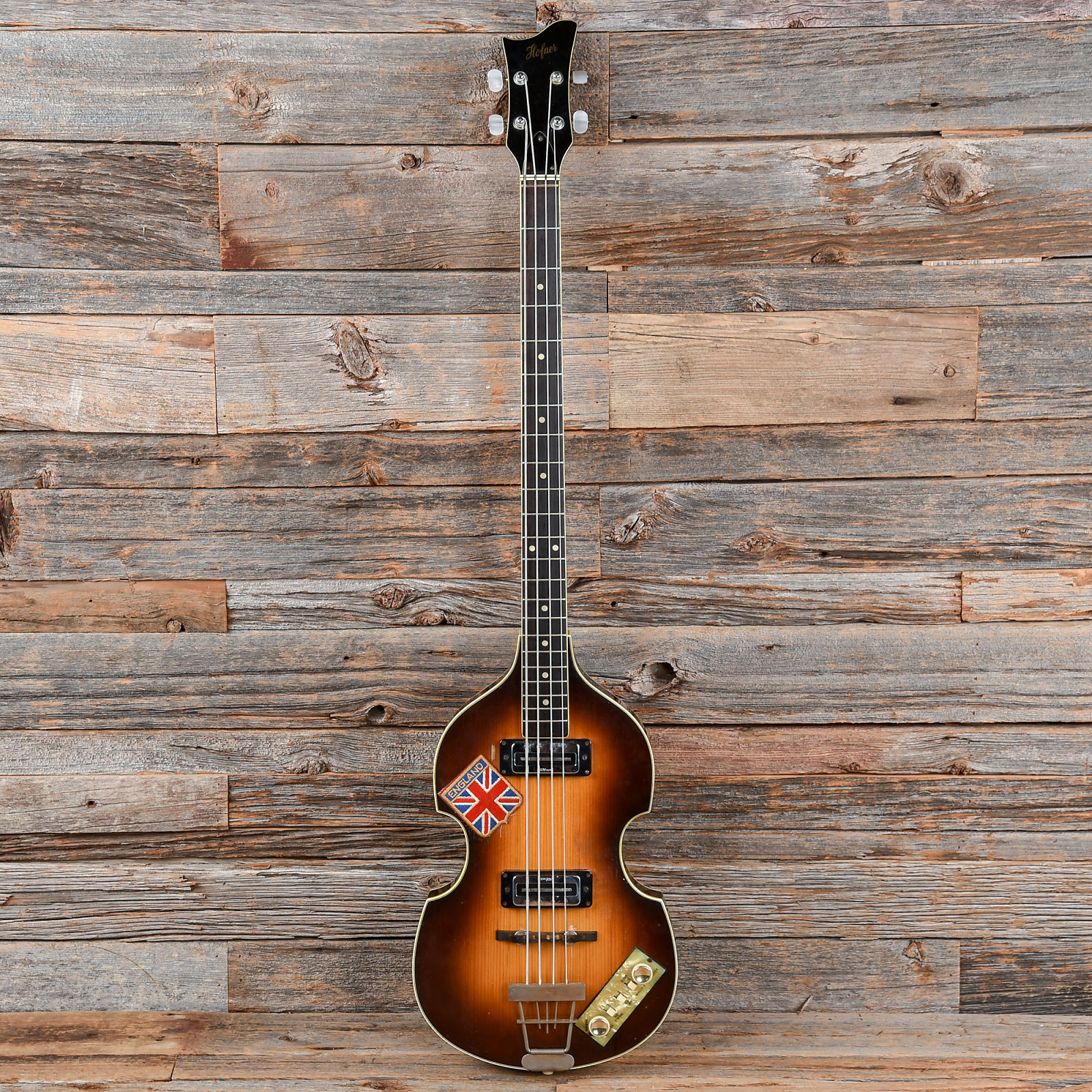 Hofner 500 1 Violin Bass Sunburst 1960s Used Wiring Diagram