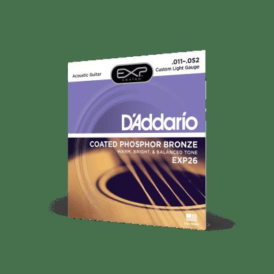 EXP26 Daddario Coated Phospher Bronze 11-52