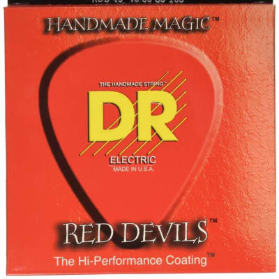 DR RDB-45 Red Devil 4-String Bass Set, 45-105