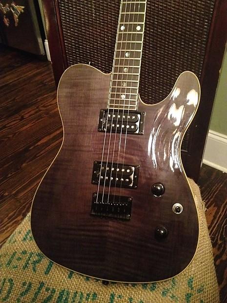 Fender Special Edition Custom Telecaster Fmt Hh Gray Reverb