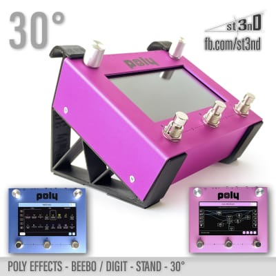 Poly Effects - Beebo & Digit STAND 30°- 3D printed - 100% Buyer Satisfaction