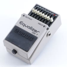 Boss GE-7 Equalizer Guitar Effects Pedal P-05318