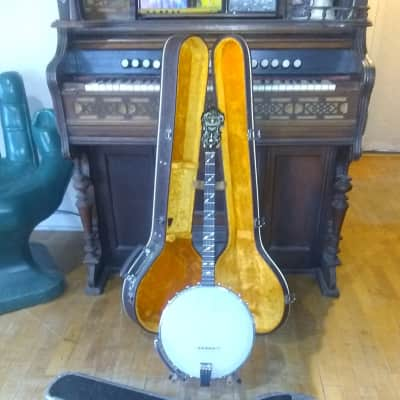 Antique 1920's (mid) Paramount Style A 19 Fret Tenor Banjo + Hardcase for sale