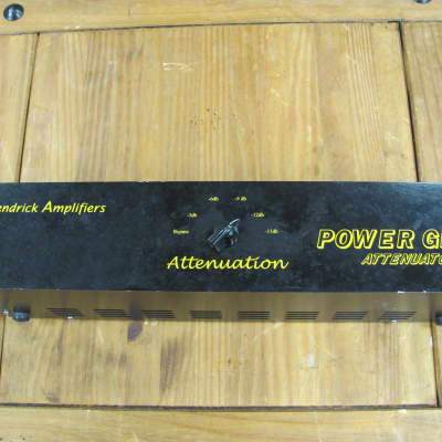 Kendrick  Power Glide Attenuator  Black With Gold Letters for sale