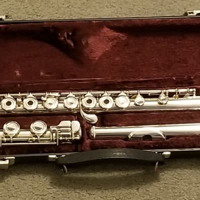 Armstrong 303B Flute - Solid Sterling Silver - Open-Hole with B-Foot - Excellent