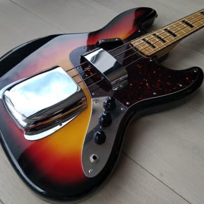 Columbus Jazz Bass early 70s Sunburst for sale